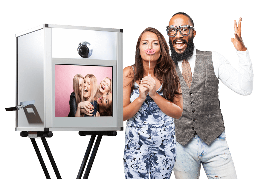 Fotobox mit Touchscreen