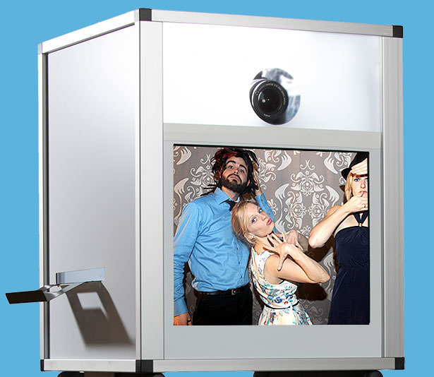 Fotobox mit Touchscreen